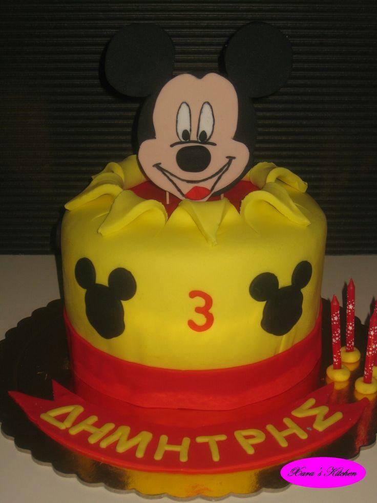 Mickey mouse cake Xara's Kitchen