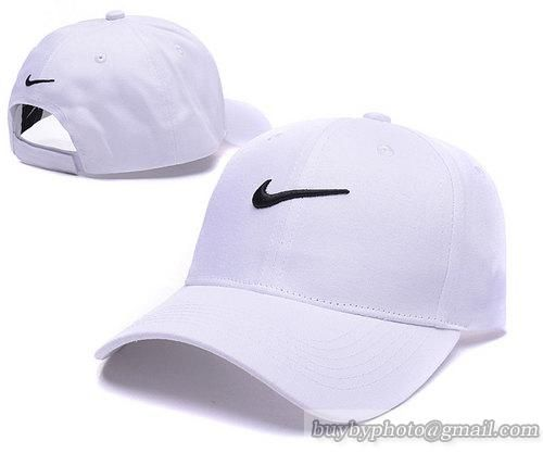 Nike Baseball Caps White 100% COTTON