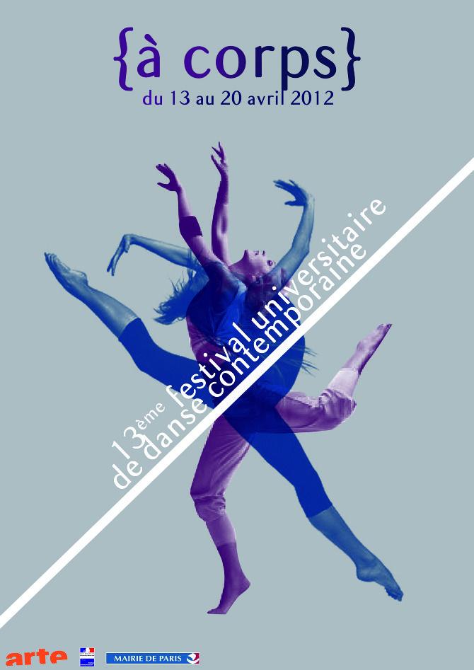 à corps affiche danse contemporaine 2013