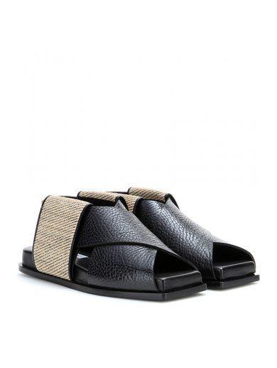 Fera Leather Sandals www.sellektor.com