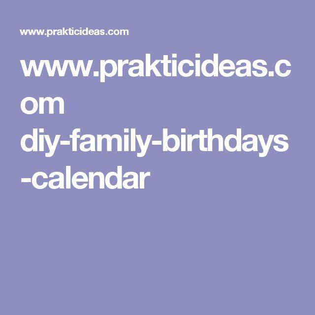 www.prakticideas.com diy-family-birthdays-calendar