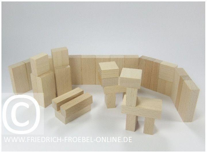 Lebensform (nach Marenholtz-Bülow) mit den Holzbausteinen der Spielgabe 6 nach Froebel -> Weihnachtsgeschichte nach der Bibel