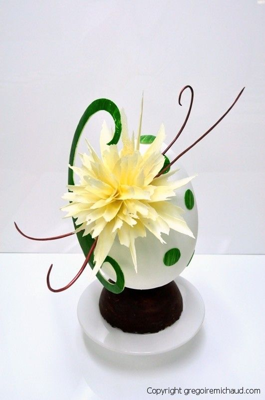 Blooming Easter Egg