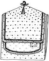 Temple Clothes Bag