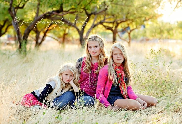 photography poses for kids | Sisters... | photography poses for older children