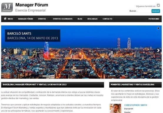 Participamos en el Manager Fórum Marketing de Barcelona celebrado en el Hotel Barceló Sants con una ponencia de nuestro compañero Ignasi Comellas