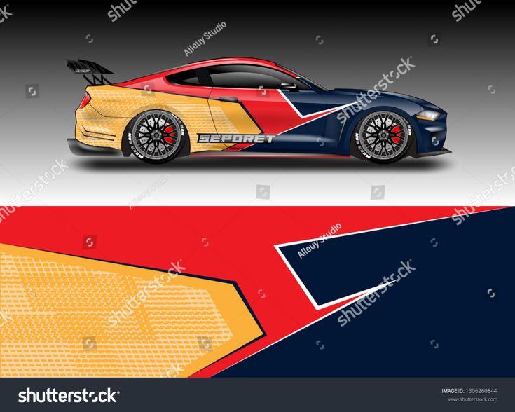 Wrap Car Racing Designs Vector Racing