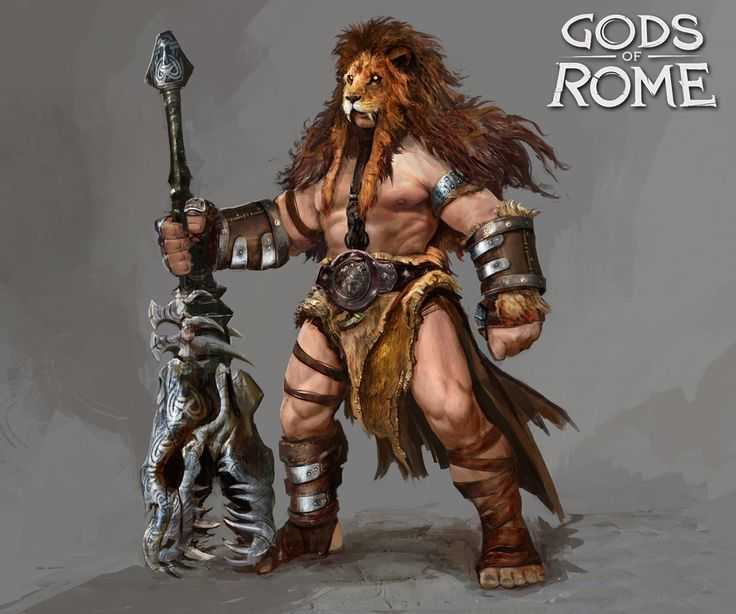 """Character designs made for """"Gods of Rome"""", a fighting game on IOS and Androïd, by Gameloft. Those designs were made in the Art Team of Gameloft HQ Paris. Art Director : Pascal Barret ©Gameloft 2016 All rights are reserved to Gameloft Games"""