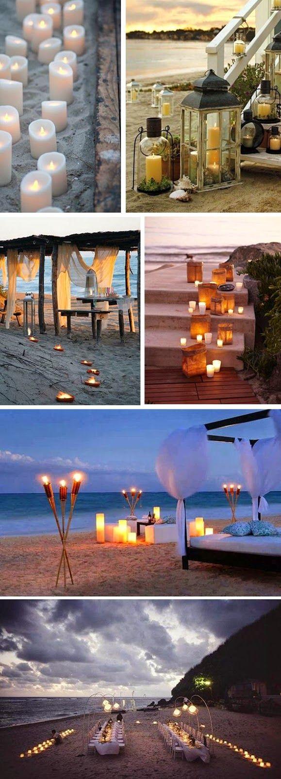 Beach Wedding Decorations - Tips For an Awesome Beach Wedding!| Read more:   http://simpleweddingstuff.blogspot.com/2015/04/beach-wedding-decorations-tips-for.html