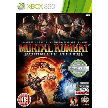 Mortal Kombat Komplete (Complete) Edition The newest chapter of the iconic fight franchise marks a triumphant return to the series39