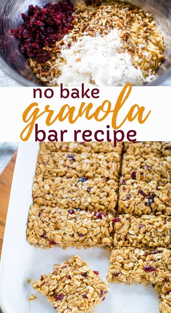 The Best Healthy Granola Bar