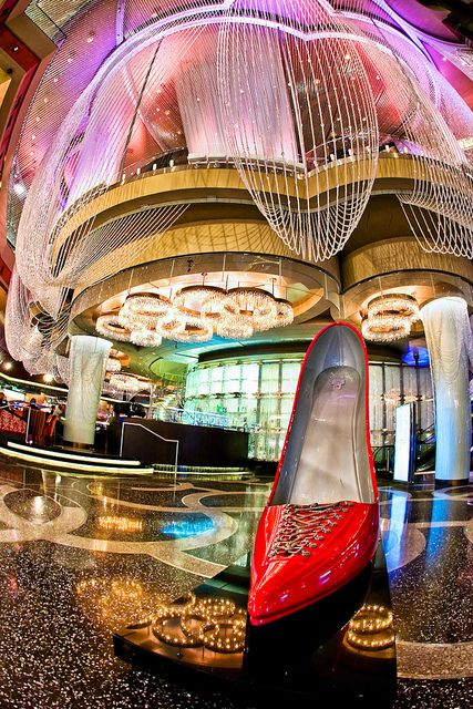 Big Red Shoe, Cosmopolitan Hotel, Las Vegas