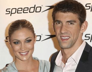See Michael Phelps Girlfriend Megan Rossee on the Red Carpet