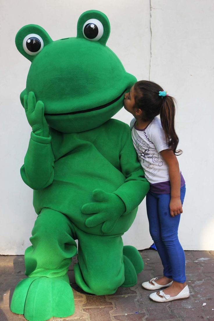 Kiss the frog :-)
