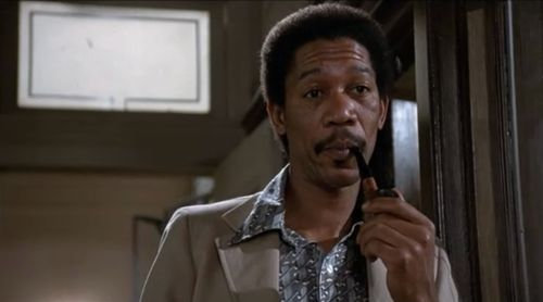 Silas's namesake - young Morgan Freeman!