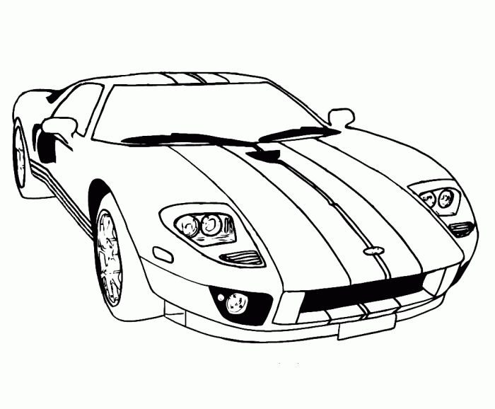 online car coloring pages - photo #31