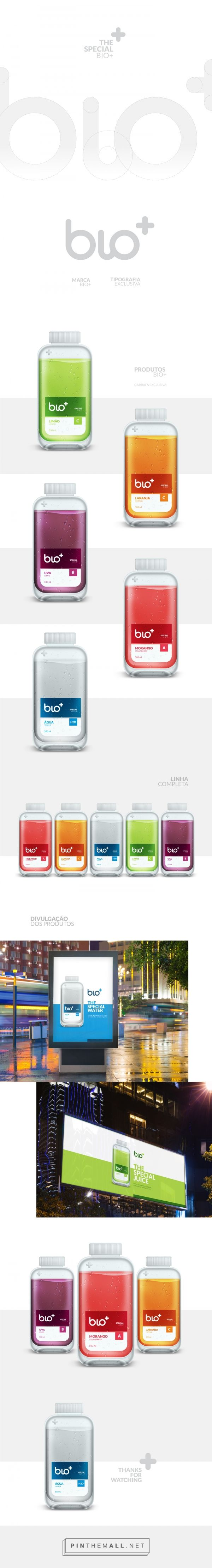 Bio+ Special Juice on Behance - created via http://pinthemall.net