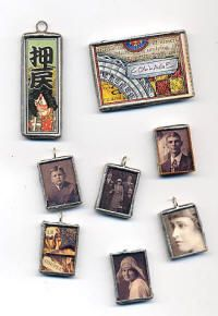 How to Make Soldered Photo Charms By Christine Cox