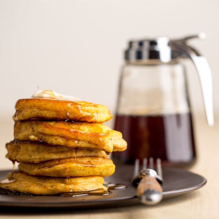 Everyone loves pancakes - especially when the weather gets cooler again in the fall. Made with pumpkin and cinnamon, these tasty pancakes are sure to please.