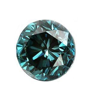 Blauer Diamant mit 0.06 Karat in der Reinheit SI2   #diamant #blau #juwelier #abt #dortmund #brillant #schliff