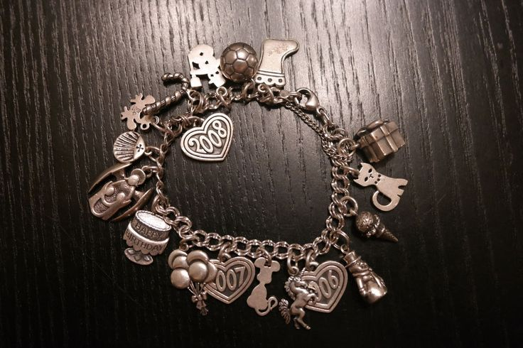 James Avery Charm Bracelet with 18 total Charms 48 grams Sterling #JamesAvery