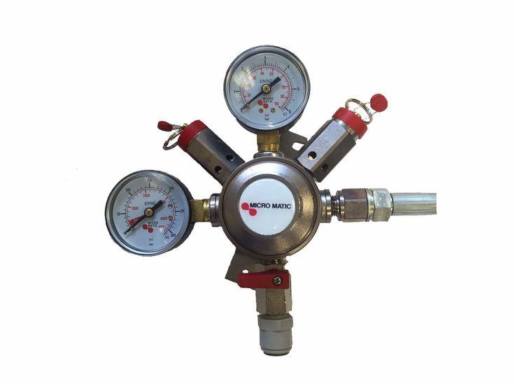 CO2 Low Pressure Regulator £58.00 #pressureregulator #gasregulator #co2regulator #beersytems #beersupplies #cellarequipment #northeastbeersupplies #lawsdrinkssystems