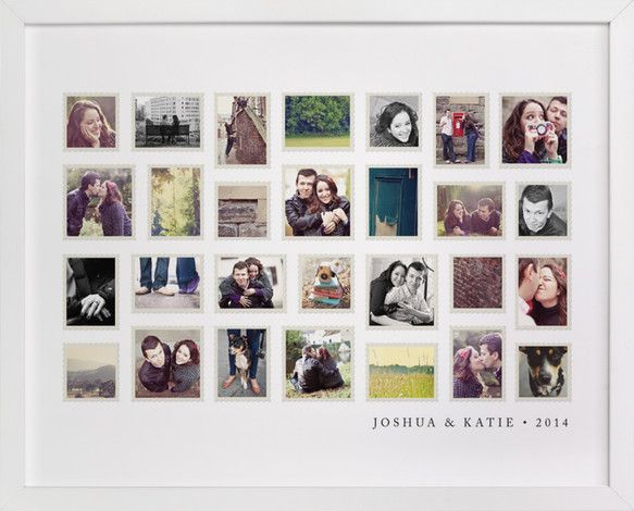 Stamp Collection by Jill Means at minted.com
