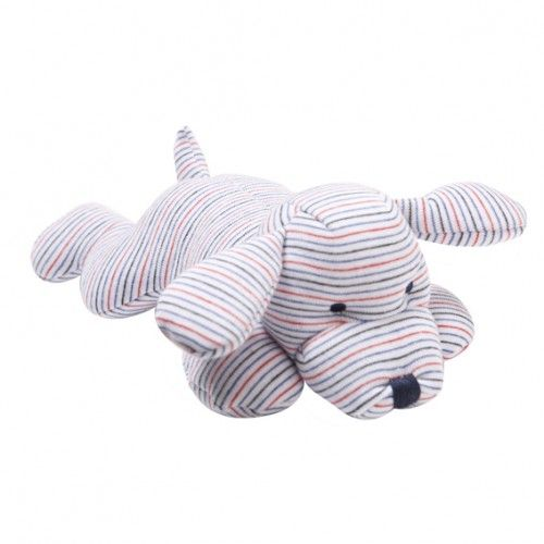 this cute and cuddly soft dog toywith rattle from bebe by minihaha is perfect for baby boys or girlssoft enough to sleep with and able to withstand a serious gumming!!just in time for christmas, alfie dog is sure to delight any small child $29.95