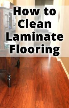 After Trying Everything From Vinegar To Various Cleaners Finally A Solution For Cleaning Laminate Floors