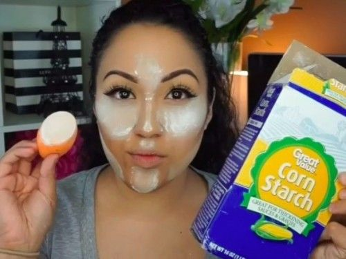 Here's why you should never use cornstarch as a makeup beauty hack