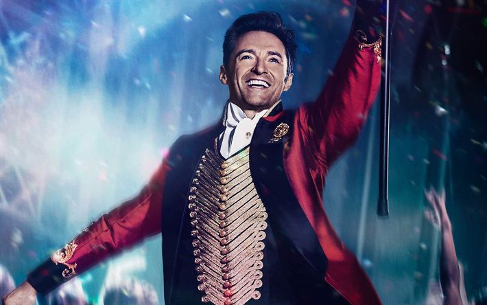 Download wallpapers The Greatest Showman, 2017, Hugh Jackman, poster, new movies, Barnum