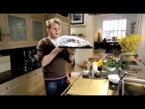Gordon Ramsay Salmon baked with Herbs Caramelised Lemons YouTube - YouTube