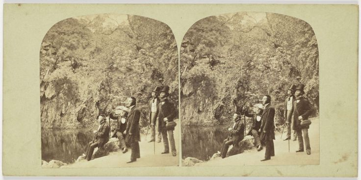 View on the Dargle, Ireland, Anonymous, 1850 - 1880