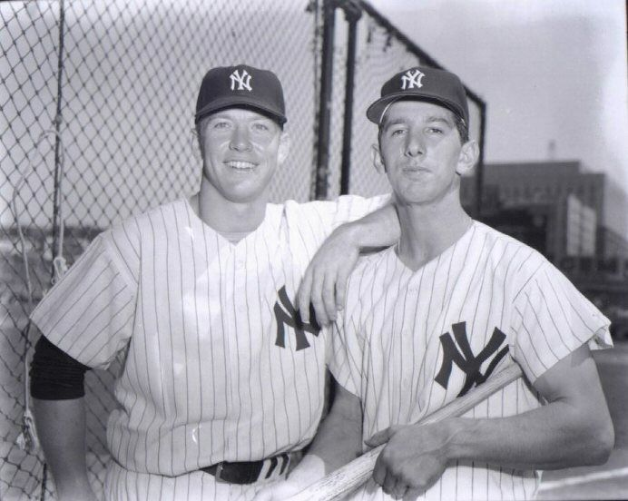 Mickey Mantle and Billy Martin Old Lost Picture Found