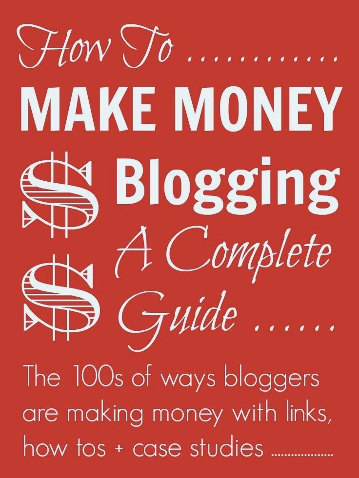 Make money with adult blog