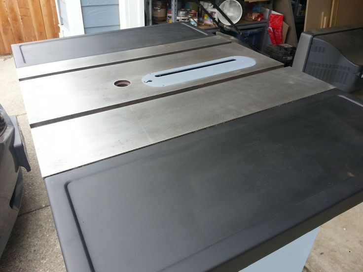 Cleaning Up Rust from Craftsman Table Saw ---> http://forum.arcadecontrols.com/index.php?topic=122240.0