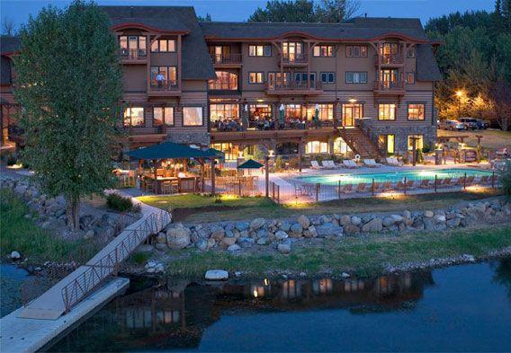 Montana mountain lodges | Whitefish Lake MT Lodging Image: Lodge at Whitefish Lake Facebook