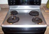 Stainless Steel Appliance Paint - give the old stove a face lift  :)