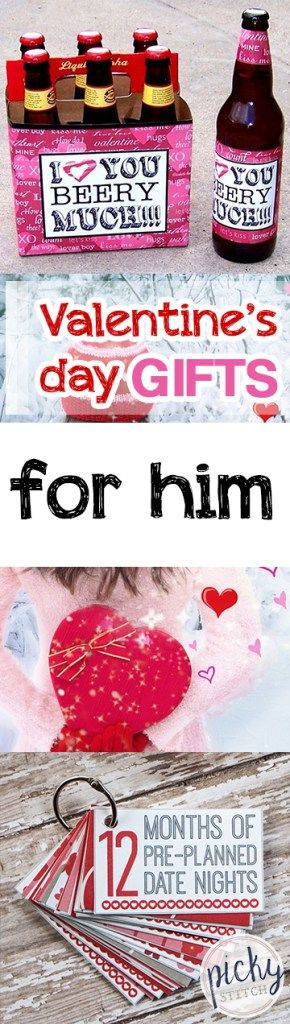 Valentines Day Gifts for Him  Valentines Day Gifts, Gift Stuff, Valentines Day Gifts, DIY Gifts, Gifts for Him, Popular Pin #DIYGifts #ValentinesDayGifts