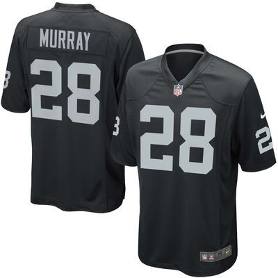 Youth Oakland Raiders Latavius Murray Nike Black Team Color Game Jersey