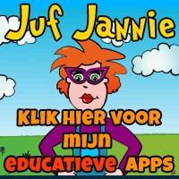 Juf Jannie maakt educatieve Apple  en Android apps voor kinderen van twee tot zeven jaar. De apps zijn thematisch ingedeeld, zoals 'de kinderboerderij'. Met recensies over educatieve apps van andere appmakers.