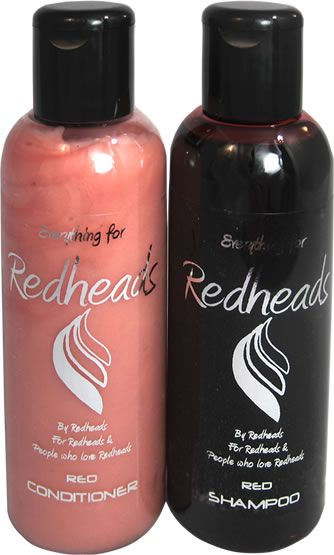 Keeping your red hair red just got easier - shampoo for red hair