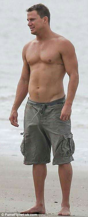 Channing Tatum Topless!                                                                                                                                                                                 More