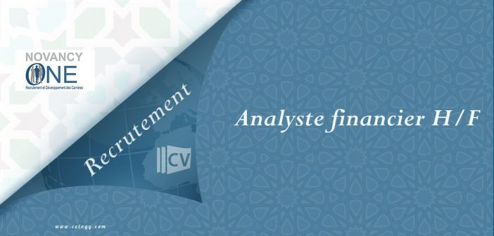 #Novancy_One: #Recrutement #Analyste #financier #sénior H/F à #Casablanca -