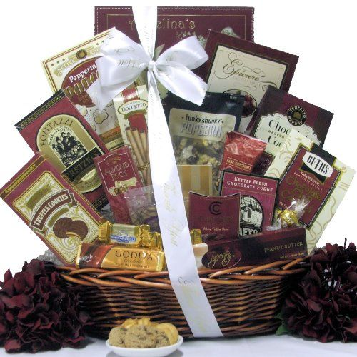 Great Arrivals Thank You Gift Basket, Chocolate Cravings - http://mygourmetgifts.com/great-arrivals-thank-you-gift-basket-chocolate-cravings/