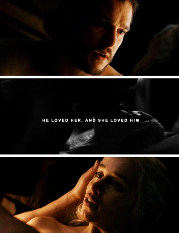 "Jon Snow & Daenerys (7x7) ""The Dragon and The Wolf"""