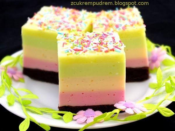 z cukrem pudrem: ciasto Optymisty