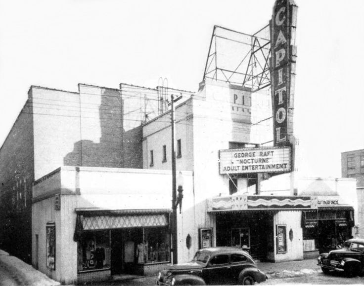 Capitol Theatre, once located on Ainslie Street in Galt.