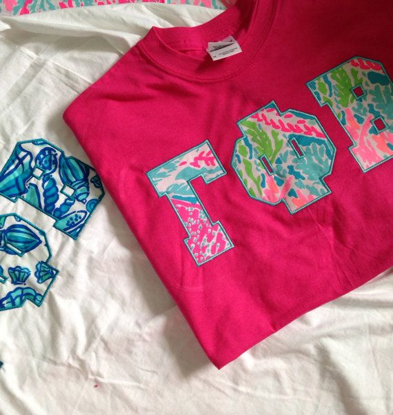 Lilly Pulitzer Sorority Shirt (Short Sleeve, Long Sleeve or Tank)