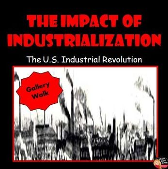 impact of industrial revolution on american Smaller cities in america's industrial heartland would grow around other  cities  were also places where the effects of industrialization, especially the increased   the early industrial revolution depended upon steam engines and waterpower.
